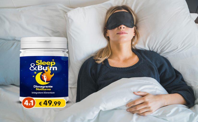 Sleep & Burn integratore dimagrante: Aiuta a perdere peso mentre si dorme? Recensione, opinioni e prezzo